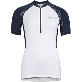 VAUDE Advanced IV Fietsshirt korte mouwen Dames wit